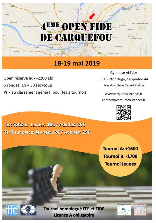 Open de Carquefou @ Carquefou