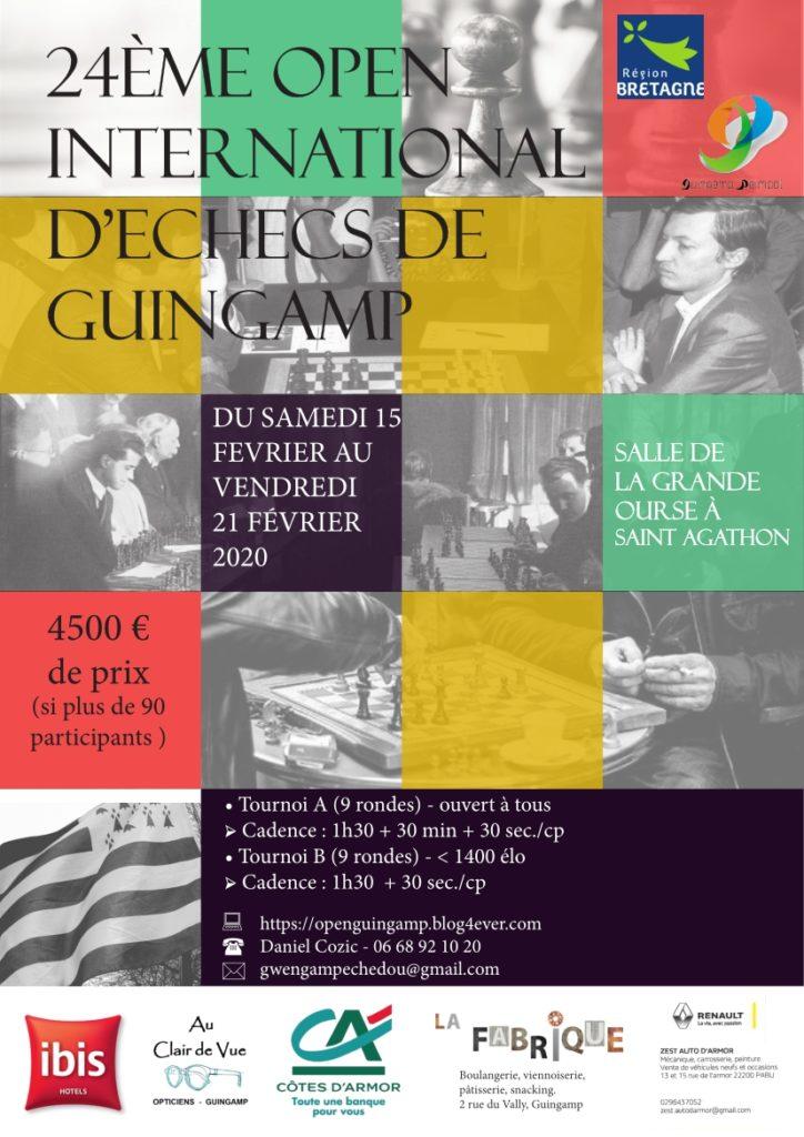 Open international de Guingamp @ Guingamp
